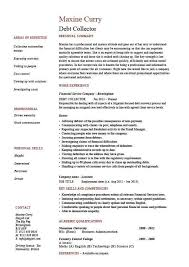 debt collector cover letter collector cover letters medical