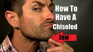 how to have a chiseled jawline jaw strengthening tips and tricks