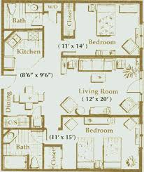 in apartment floor plans senior living apartment floor plans independent living community