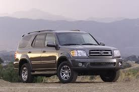 2003 toyota sequoia reviews and rating motor trend