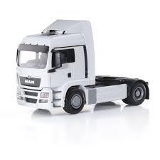 semi trailer truck man tgs lx sattelzugmaschine weiß man