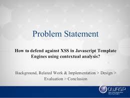 efficient context sensitive output escaping for javascript template e u2026