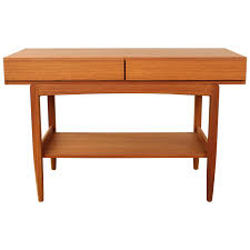 mid century modern entry table mid century modern console table
