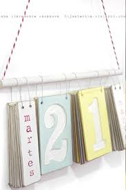 How To Make Your Own Desk Calendar Best 25 Wooden Calendar Ideas On Pinterest Office Calendar