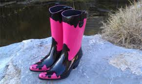 womens pink cowboy boots size 9 corkys bronco womens cowboy style pink black boots 13