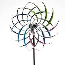 bits and pieces rainbow wind spinner decorative