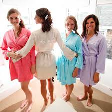bridesmaids robes cheap wedding robes 7 personalize your and bridesmaid robes for