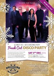 christmas party night freak out disco band christmas cabaret