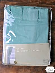 Curtains World Market How To Customize Ready Made Curtains With No Sew Tape