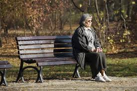 What Is A Bench Trial Photo People Lonely Senior Sitting On Park Bench Ss756640 Color Hires