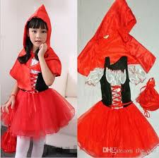 Princess Halloween Costumes Kids 2017 Red Riding Hood Costume Kids Princess Halloween