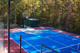 Backyard Tennis Courts Backyard Courts Neave Sports