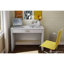 White Desk With Keyboard Tray by South Shore Work Id Secretary Desk Multiple Finishes Walmart Com