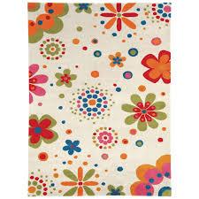 lovely fullcolor floral rug 9 x 12 design for kids rugs room ideas