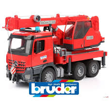 bruder toys logo bruder mercedes benz arocs crane truck with light and sound