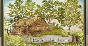 layers of ink flower garden scenic stamping