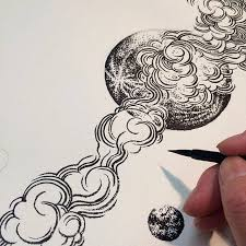 yuko shimizu planet sketch work in progress artness