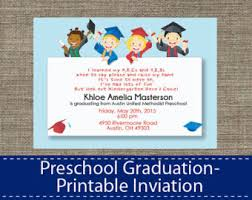 kindergarten graduation invitations preschool graduation invitations reduxsquad