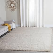 Ivory Wool Rug 8 X 10 Safavieh Charlotte Shag Ivory 8 Ft X 10 Ft Area Rug Sgc720a 8
