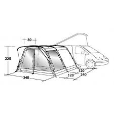 Outwell Country Road Awning Outwell Country Road Tall Touring Drive Away Camper Van Motorhome