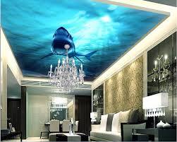 online get cheap shark wall murals aliexpress com alibaba group custom photo non woven 3d ceiling murals wallpaper shark sea world decoration painting 3d wall murals wallpaper for walls 3 d