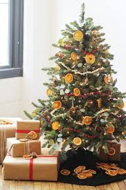 traditional tree decoration comprising dried