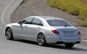 mercedes benz s class facelift caught testing on amg s63 variant