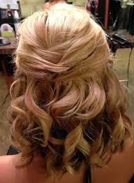 half up hairstyles for medium length hair shoulder length wedding