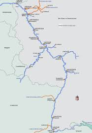 Map Of European Rivers by Rhine River Germany European Waterways Eu Description Of