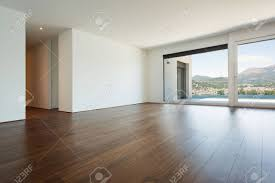 empty room pictures beautiful modern house empty room with windows stock photo