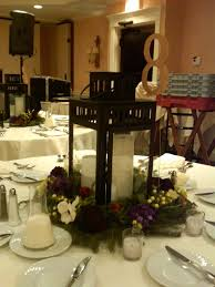 dining room table christmas centerpiece ideas decorations tower candle lantern christmas centerpiece idea