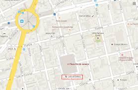 Google Maps Mexico by Plaza Rio De Janeiro Google Maps U2013 Travel Notes