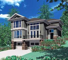 Sloping Lot House Plans Plan W6924am For A Front Sloping Lot E Architectural Design