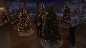 bethlehem lights grand fir tree with swift lock technology on qvc