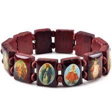 cadeau en bois pour femme en bois saints bracelet achetez des lots à petit prix en bois