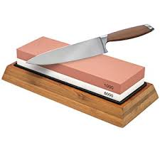 how do you sharpen kitchen knives sorbus knife sharpening 1000 6000 grit