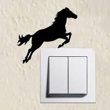 Jumping Light All American Saddles Adorable Jumping Horse Silhouette Light Switch St