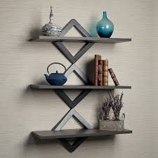 Wall To Wall Bookcases Mercury Row Dehaan Diamonds 3 Level Wall Shelf U0026 Reviews Wayfair