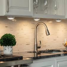 kitchen cabinet lighting canada brilliant evolution led white puck light with remote 6 pack
