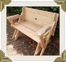 Picnic Table Plans Free Online by Best 20 Folding Picnic Table Plans Ideas On Pinterest U2014no Signup