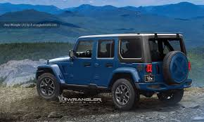 Jeep News And Rumors Our New Jeep Wrangler 2018 Unlimited And Pickup Preview