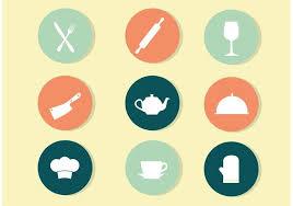 kitchen icon circle kitchen icon vectors download free vector art stock