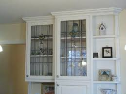 Glass Kitchen Wall Cabinets by Stained Glass Doors For Kitchen Cabinets Decorative Glass Door