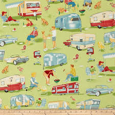 Discount Home Decor Fabric by Michael Miller Children At Play On Parade Double Border Multi