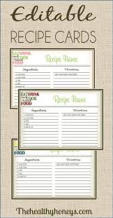 printable recipe cards template 523 best printable recipe cards images on pinterest printable