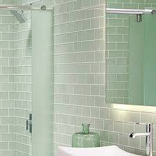 Bathroom Subway Tile Good Example Of White Subway Tiles With - Bathroom shower tiling