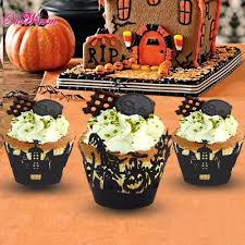 Halloween Witch Cake by Halloween Decorated Cupcakes Spooky Halloween Cupcake