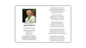 funeral memorial cards memorial cards hassan funeral director