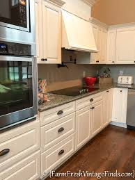 Custom Painted Kitchen Cabinets Client Custom Kitchen On A Builder Grade Budget Part 2 Farm