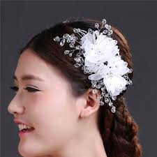 hair accessories for indian weddings china wholesale wedding hair accessories indian flower